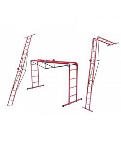 Лестница-трансформер Mastertool 79-1023, 3*4 ступени, , 79-1023, Mastertool, Лестницы и стремянки