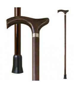 Трость для ходьбы (для инвалидов и пожилых) опорная Мирта Оксфорд деревянная (518), 20290, 518, Mirta, Трости
