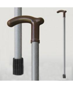 Трость для ходьбы (для инвалидов и пожилых) опорная Мирта серый пластик (520), 20291, 520, Mirta, Трости