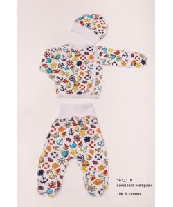 Детская пижама для девочек (мальчиков) OBABY (342-110), , 342-110, OBABY, Пижамы детские