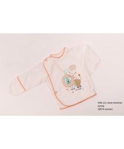 Распашонка для новорожденных мальчиков (девочек) OBABY (348-111), , 348-111, OBABY, Распашонки и ползунки