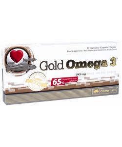 Рыбий жир Омега в капсулах (пищевая добавка) Gold Omega 3 60 капсул Olimp Nutrition (00325-01), 20376, 00325-01, Olimp Nutrition, Витамины и минералы