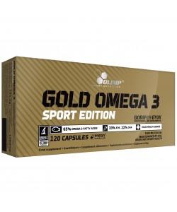 Рыбий жир Омега в капсулах (пищевая добавка) Gold Omega 3 Sport Edition 120 капсул Olimp Nutrition (01613-01), 20375, 01613-01, Olimp Nutrition, Витамины и минералы
