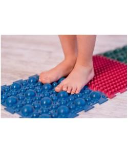Детский ортопедический массажный коврик пазл татами для стоп, ног резиновый OBABY 1шт (MS-1209-3), 13411, MS-1209-3, OBABY, Массажный мячик для ног и рук