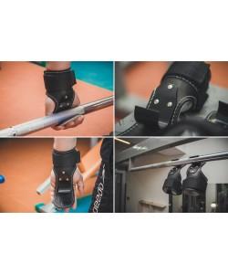 Крюки для турника, тяги и штанги Onhillsport (OS-0308), 00-00006895, OS-0308, Onhillsport, Лямки, петли, ремни для тяги, штанги и турника