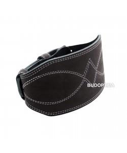 Пояс атлетический двухслойный кожаный Onhillsport, размер S (OS-0403-1), 00-00007367, OS-0403-1, Onhillsport, Атлетический пояс