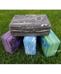 Кирпич для йоги (йога блок) OSPORT EVA Marble (MS 0858-1), , MS 0858-1, OSPORT, Разное для фитнеса и йоги