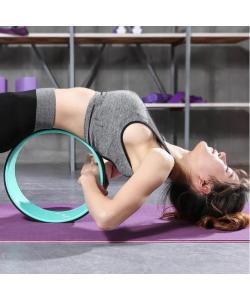 Колесо для йоги и фитнеса (йога кольцо) 32х13см OSPORT Fit Wheel Yoga (FI-7057), , FI-7057, OSPORT, Кирпич и колесо для йоги