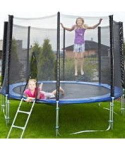 Батут для дома с защитной сеткой для взрослых и детей профессиональный OSPORT диаметр 185 см (MS 0500), 20267, MS 0500, OSPORT, Батуты с сеткой