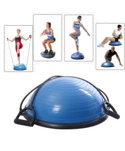 Балансировочная подушка полусфера (платформа) для фитнеса (гимнастики) OSPORT BOSU 46см (MS 2607-1), , MS 2607-1, OSPORT, Разное для фитнеса и йоги