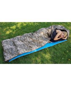 Спальный мешок (спальник) одеяло с капюшоном зимний OSPORT Зима (FI-0020), , FI-0020, OSPORT, Спальные мешки