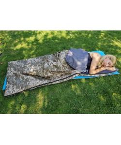 Спальный мешок (спальник туристический летний) одеяло OSPORT Лето Medium (FI-0046), 20107, FI-0046, OSPORT, Спальные мешки