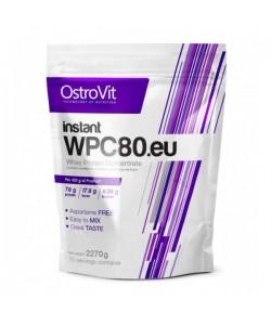 Концентрат сывороточно-белковый instant протеин WPC80.eu порошок 2.27кг OstroVit (08389-01), 19269, 08389-01, OstroVit, Протеин
