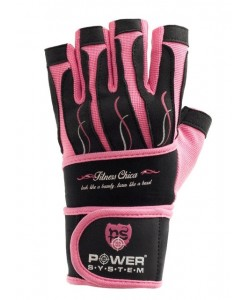 Перчатки для тяжелой атлетики POWER SYSTEM PS-2710 FITNESS CHICA, 17821, PS-2710, Power System, Спортивные перчатки