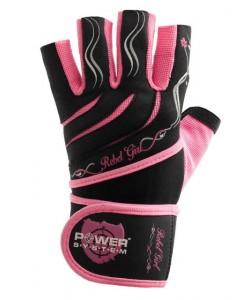Перчатки для тяжелой атлетики POWER SYSTEM PS-2720 REBEL GIRL, 17822, PS-2720, Power System, Спортивные перчатки