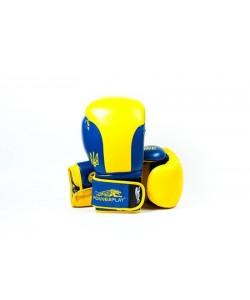 Боксерские перчатки PowerPlay 3021 Ukraine, , 3021, PowerPlay, Детские боксерские перчатки
