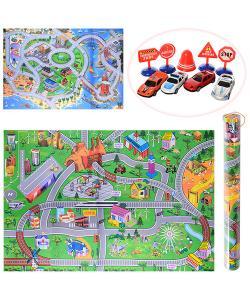 Детский игровой развивающий коврик OSPORT с фигурками 80х122см (019A-23P-25P), 19331, 019A-23P-25P, OSPORT, Развивающие коврики для детей