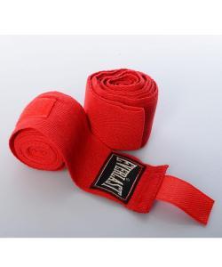 Бинты боксерские для бокса (защита на запястье) на руки для спорта и единоборств 2шт 2.5м Everlast (MS 1216-1), , MS 1216-1, EVERLAST, Боксерские бинты