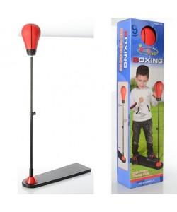 Детский боксерский набор на стойке (груша напольная) для детей М 1082, 15740, М 1082, Kings Sport, Детский боксерский набор