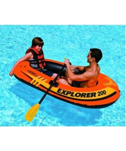 Детская надувная лодка EXPLORER 200 (58330), , 58330, BESTWAY, Надувные лодки ПВХ