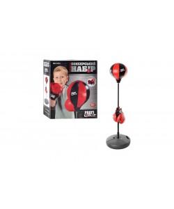 Детский боксерский набор на стойке (груша напольная с перчатками для детей) MS0333