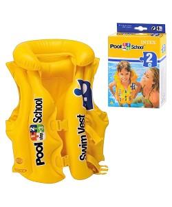 Детский надувной спасательный жилет пляжный для плавания (интекс) Intex (58660), , 58660, Intex, Аксессуары для плавания