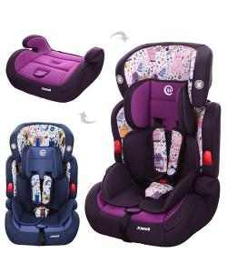 Автокресло детское для машины (кресло для авто) с регулируемым подголовником 2в1 Bambi JUNIOR(ME 1008-1), 20247, ME 1008-1, Bambi, Разные детские товары