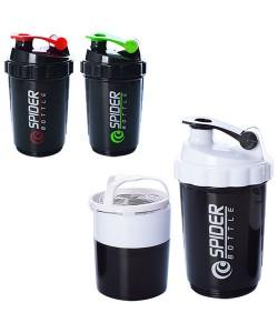 Спортивная бутылка шейкер (бутылочка) для воды, спортивного питания 500мл Profi (MS 1223), , MS 1223, Profi, Шейкер и бутылки для воды