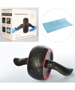 Ролик (колесо) для мышц пресса с возвратным механизмом Profi (MS 2211), 20076, MS 2211, Profi, Колесо для пресса