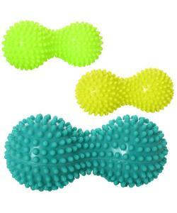 Массажный мяч для йоги и фитнеса (массажер для мышц спины и ног) OSPORT (MS 2367), 20427, MS 2367, OSPORT, Массажный мячик для ног и рук