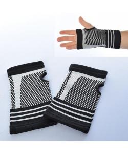 Перчатки спортивные (атлетические, тренировочные) для зала и фитнеса с защитой запястья Profi (MS 2824), , MS 2824, Profi, Спортивные перчатки