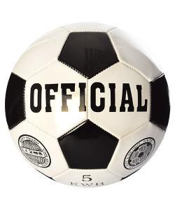 Мяч футбольный (для футбола) 4-х слойный кожа PU Profi Official (EN-3226), , EN-3226, Profi, Мячи
