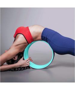 Колесо (кольцо) для йоги массажное 33х13см OSPORT (MS 1842-1), , MS 1842-1, OSPORT, Кирпич и колесо для йоги