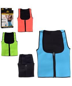 Жилет (майка) неопреновый для бега, фитнеса и похудения Sibote (MS 2053), 20116, MS 2053, Sibote, Одежда и пояса для похудения