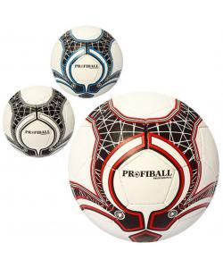 Мяч футбольный кожа PU Profi (2500-65ABC), 18762, 2500-65АВС, Profi, Мячи