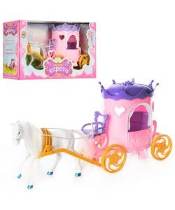Детсая игрушка карета принцессы с лошадью Metr Plus (315), , 315, Metr Plus, Детские игрушки