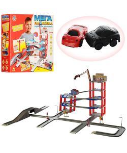 Гараж игрушечный на 6 уровней с четырмя машинами и лифтом Metr Plus (922), , 922, Metr Plus, Детские игрушки