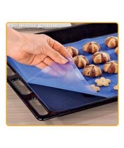 Силиконовый коврик для выпечки и кондитерки антипригарный для запекания и раскатки теста 37х27см (НН-025), , HH-025, Stenson, Разные товары для дома