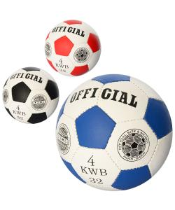 Мяч футбольный детский кожа PU 4 размер Profi (2501-22), 19487, 2501-22, Profi, Футбольные мячи