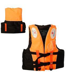 Детский спасательный жилет на застежках со свистком Profi (D25728), , D25728, Profi, Надувной круг, жилет
