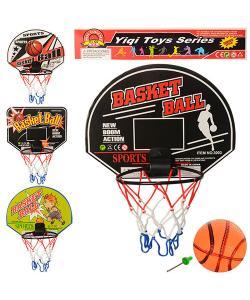 Детское баскетбольное кольцо с щитом и мячом 28х21см Profi (M 3339), 19330, M 3339, Profi, Баскетбольное кольцо