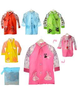 Детский дождевик с капюшоном на кнопках Profi (MK 1651), , MK 1651, Profi, Дождевики