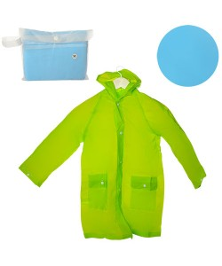 Детский дождевик с капюшоном на кнопках с карманами Profi (MK 1664), , MK 1664, Profi, Дождевики