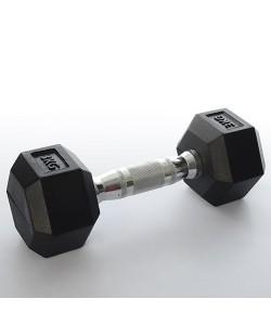 Гантели металлические для фитнеса Profi 3 кг (MS 0115)