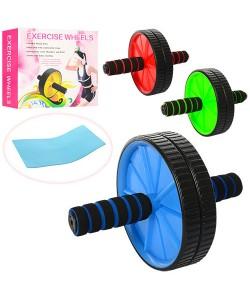 Тренажер ролик (колесо) для пресса Profi (MS 0871-1), 17994, MS 0871-1, Profi, Колесо для пресса