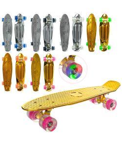 Скейт (скейтборд) детский пластиковый для трюков 56х14см Profi (MS 0296), , MS 0296, Profi, Детские товары