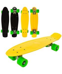 Скейт (скейтборд) детский пластиковый для трюков 56.5х15см Profi (MS 0848-6), , MS 0848-6, Profi, Скейтборды