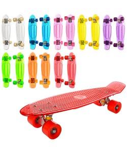 Скейт (скейтборд) детский пластиковый для трюков 57х15см Profi (MS 0855-2), , MS 0855-2, Profi, Детские товары
