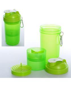 Бутылочка (шейкер) для воды спортивная 19х9х9см Profi (MS 1228), 19540, MS 1228, Profi, Шейкер и бутылки для воды