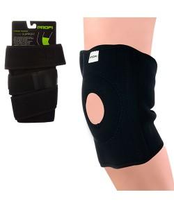 Бандаж для колена со спиральными ребрами неопрен/нейлон Profi (MS 1512), 19531, MS 1512, Profi, Бандаж и корсеты